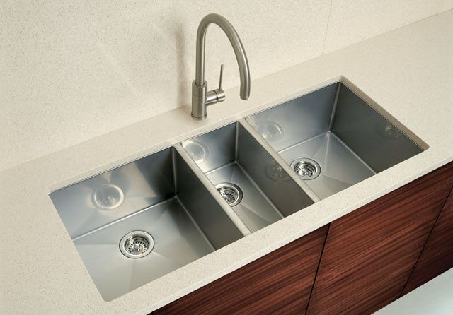 This Triple Sink Is Great For The Big Gourmet Kitchen I Want Plus