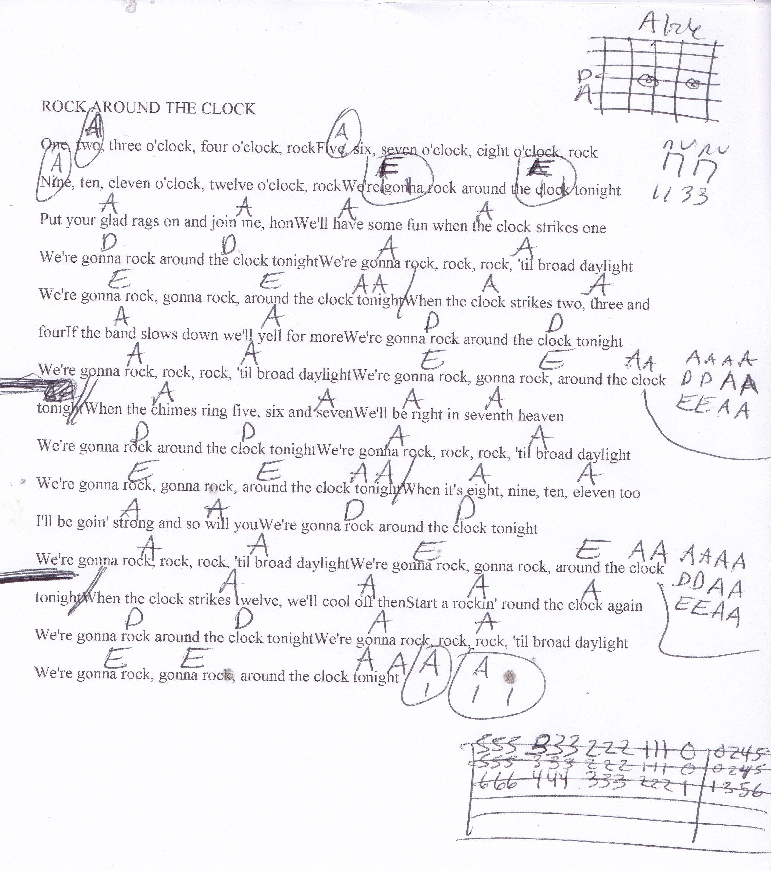 Rock around the clock bill haley guitar chord chart guitar rock around the clock bill haley guitar chord chart hexwebz Choice Image