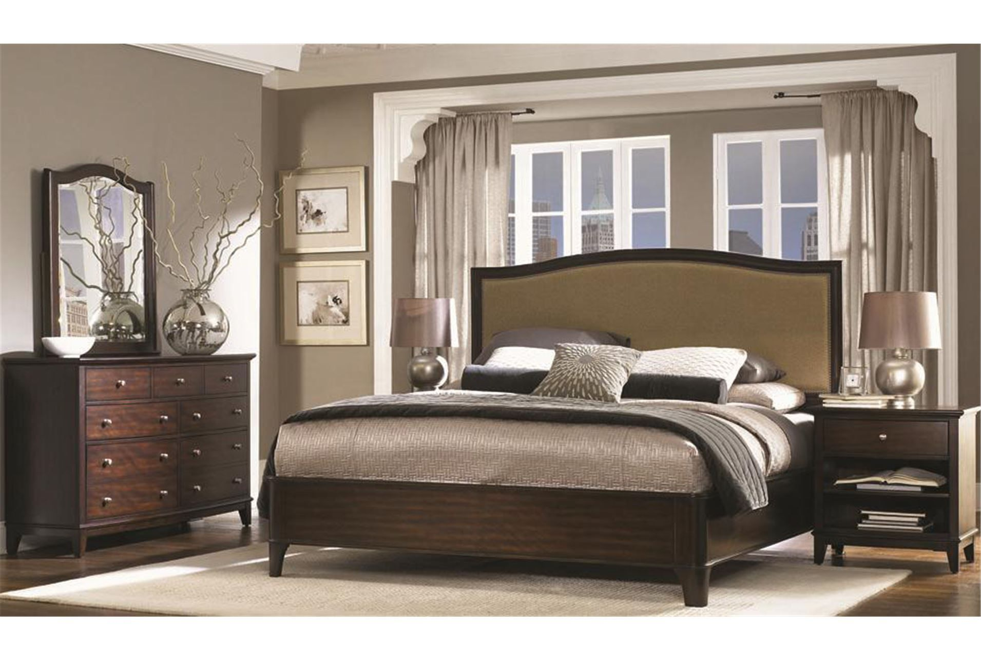 """New Haven California King Panel Bed """"my life. my style"""