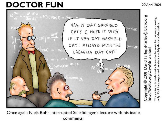 Schrodinger explains his uncertainty principle