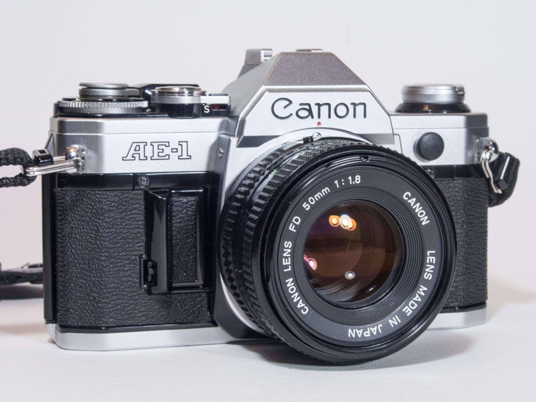 Canon Ae 1 Film Camera Extras 35mm Camera Slr Camera Vintage Canon Film Photography 1970s Photography 50mm Lens Classic 1980 S Slr Film Camera Cameras For Sale Film Camera