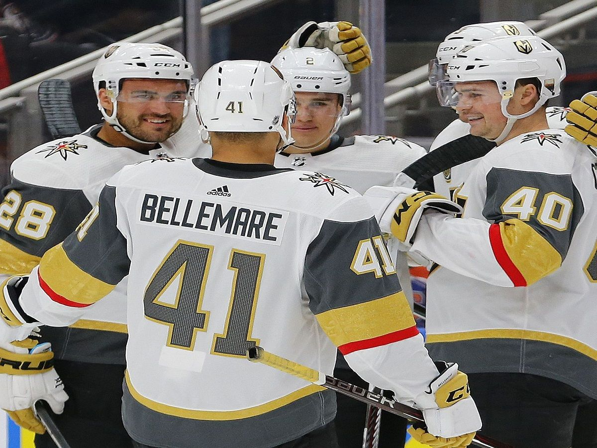 NHL point projections reflection Golden Knights had me