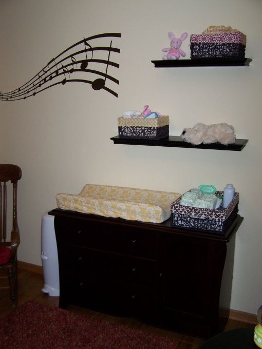 Clic Music Themed Nursery Designs Decorating Ideas