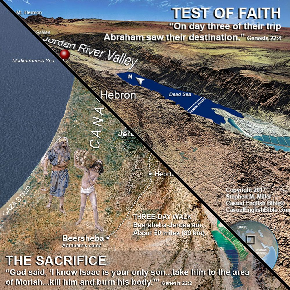 I Ve Got A Question For You About A Map I M Making To Illustrate Abraham S Trip To Jerusalem To Sacrifice Isaac Map 1 Or Map 2 Trip Map Christian Author
