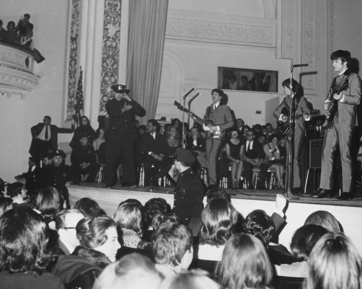 A Beatles a Carnegie Hall-ban