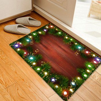 Christmas Candy Cane Pattern Indoor Outdoor Area Rug Indoor - outdoor christmas decorations wholesale