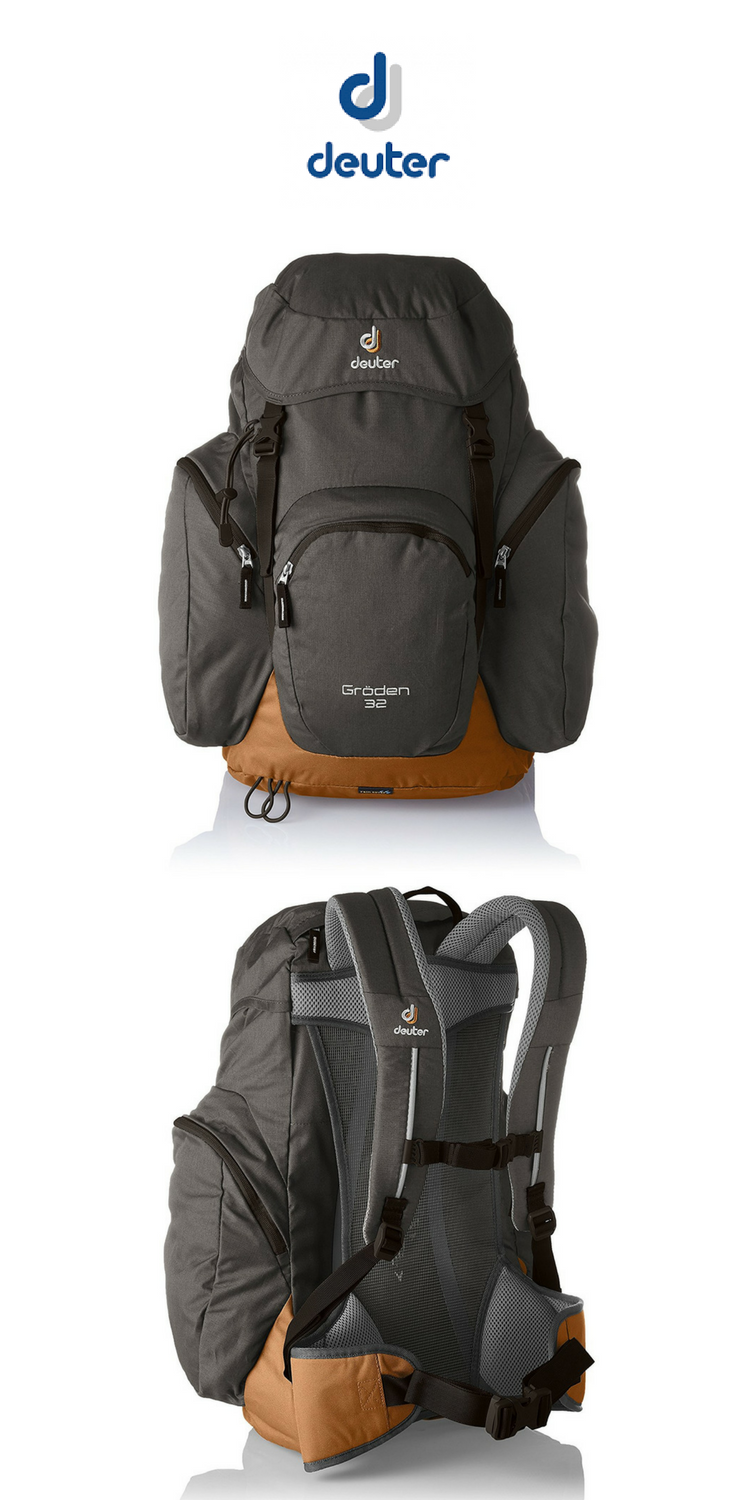 Deuter Groden 32 Day Hiking Backpack Anthracite Lion Click For Price And More Pack Camping Backng Style