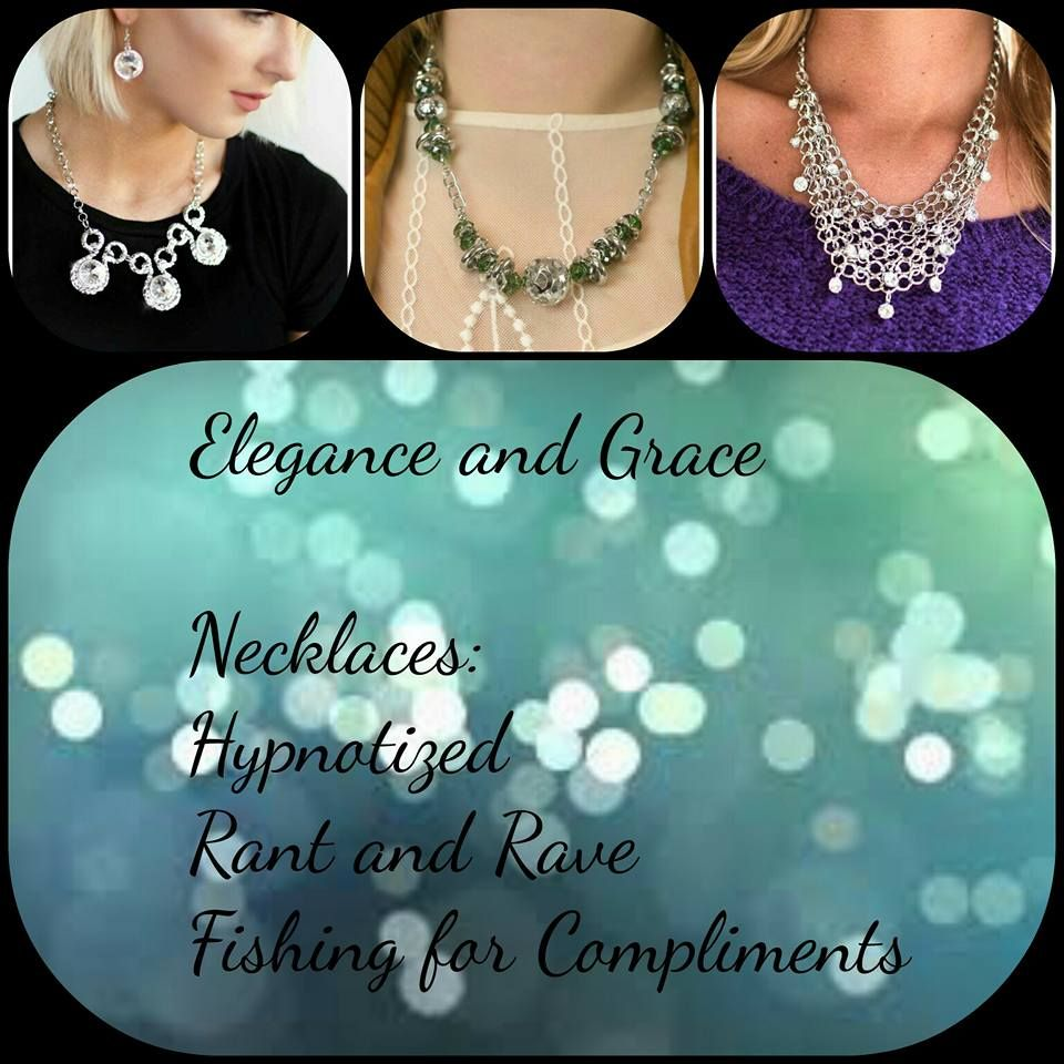 Special event coming up? Or just want to enjoy some bling? Check out these pieces! What events do you think they could be worn at?  Order now at paparazziaccessories.com/42635. Login or create a customer account and join the Mystery Hostess Party. Remember you get 1 entry to win all the hostess rewards for every piece you purchase.