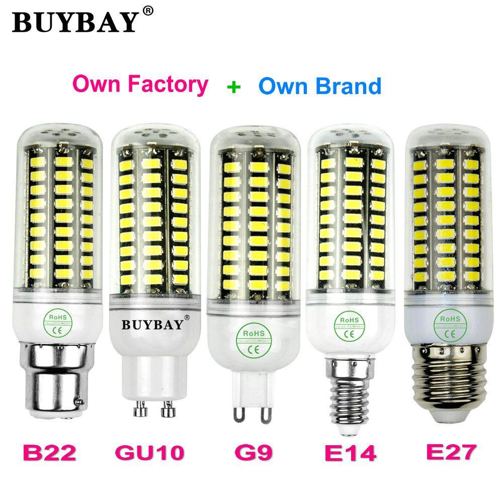 More Bright Smd5736 Led Corn Bulb E27 Led E14 Led G9 Led Gu10 Led B22 3w 4w 5w 7w 10w Led Lamp 90 260v Smd5730 Candle Spotlight Spotlight Bulbs E14 Led