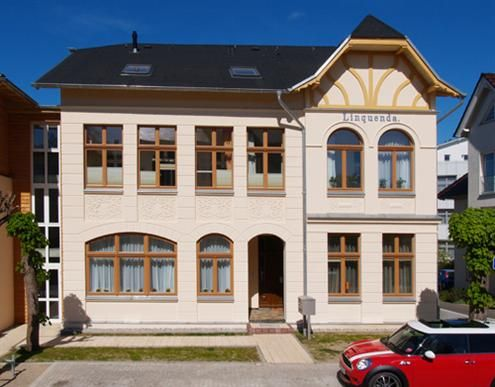 Villa Linquenda, Goethestraße, Ahlbeck, Insel Usedom