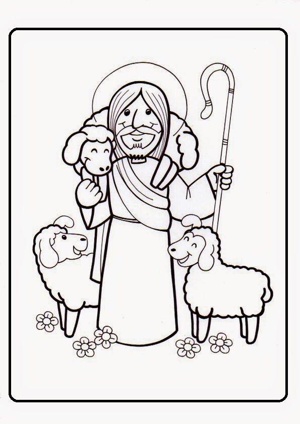 Yo Soy El Buen Pastor El Buen Pastor Artesania Biblica Catequesis