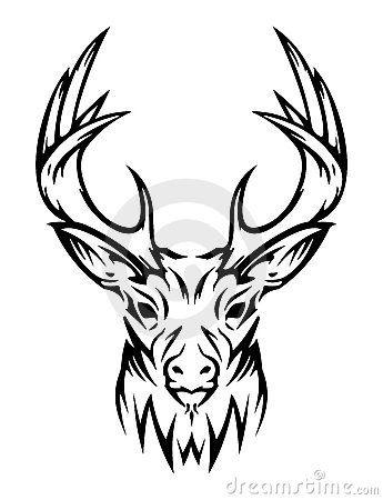 cerfs communs tatouages cerf dessin et tatouage. Black Bedroom Furniture Sets. Home Design Ideas