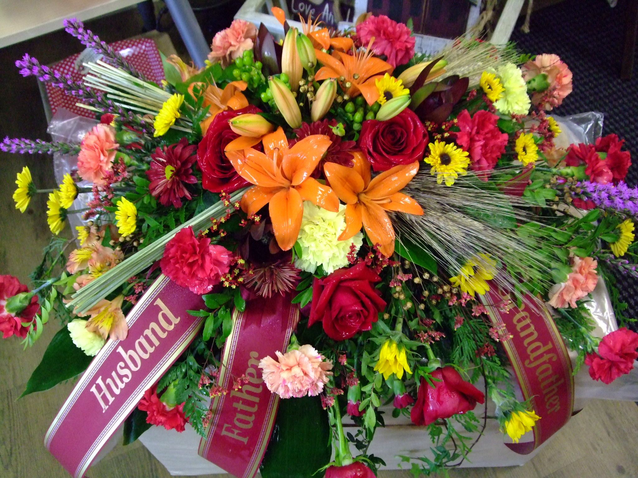 Pin By Vickie Mayes On Cemetery Flower Arrangement Pinterest