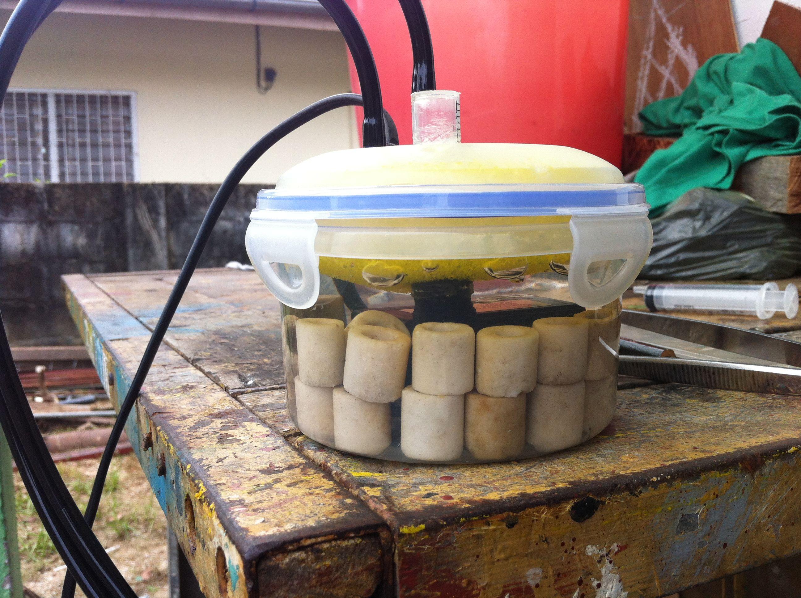 Diy pico aquarium filter aquaria pinterest aquarium for Fish tank filter homemade