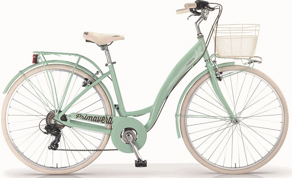 Mbm Nostalgierad New Primavera 6 Gang Shimano Ty 300 Schaltwerk Kettenschaltung Fahrrad Damen Retro Fahrrad Klapprad