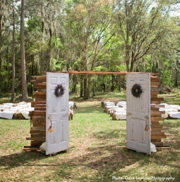 Outdoor Wedding Ceremony Doors: Pin On Heather