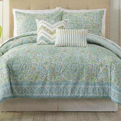 0204204b9c15e3f732e6fa106f5951fd - Better Homes And Gardens Indigo Paisley Comforter Set