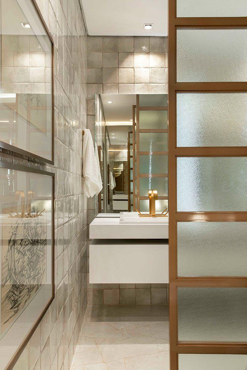 88a6273068e0e Suíte Master – CASACOR Ribeirão Preto 2018   Bathroom - Banheiro ...