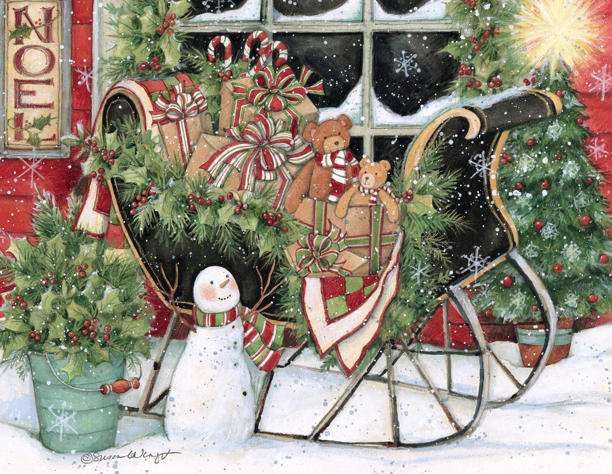 Heart & Home Assorted Christmas Card , 1008106 Lang