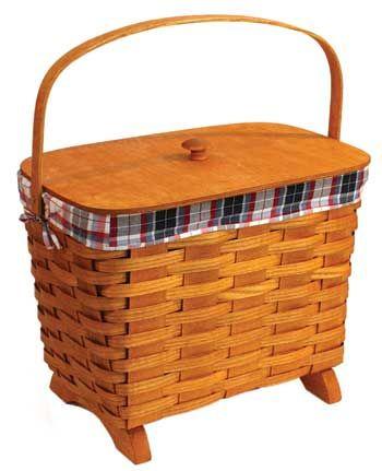 Peterboro Traditional Knitting Basket Madeinusa Via Buydirectusa Com Like Share Repin Knit Basket Basket Picnic Basket