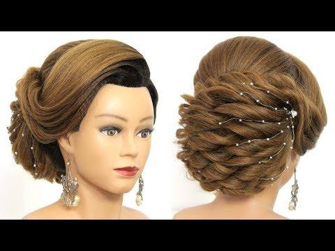 Bridal Updo Tutorial Wedding Prom Hairstyles For Long Hair Youtube Updo Tutorial Prom Hairstyles For Long Hair Hair Styles