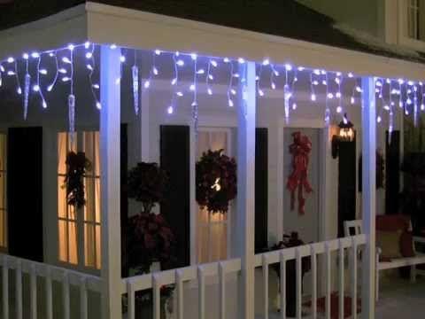 Animated Icicle Lights Christmas Pinterest Lighting, Icicle