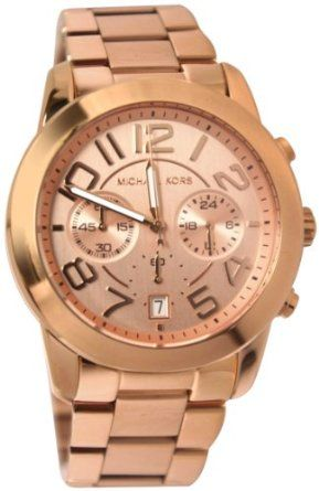 Who will buy this for me? Michael Kors Watches Mercer (Rose Gold): Watches: Amazon.com
