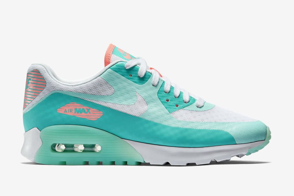 Chic Nike Air Max 90 Ultra Running Shoes Blue Blue Breathe