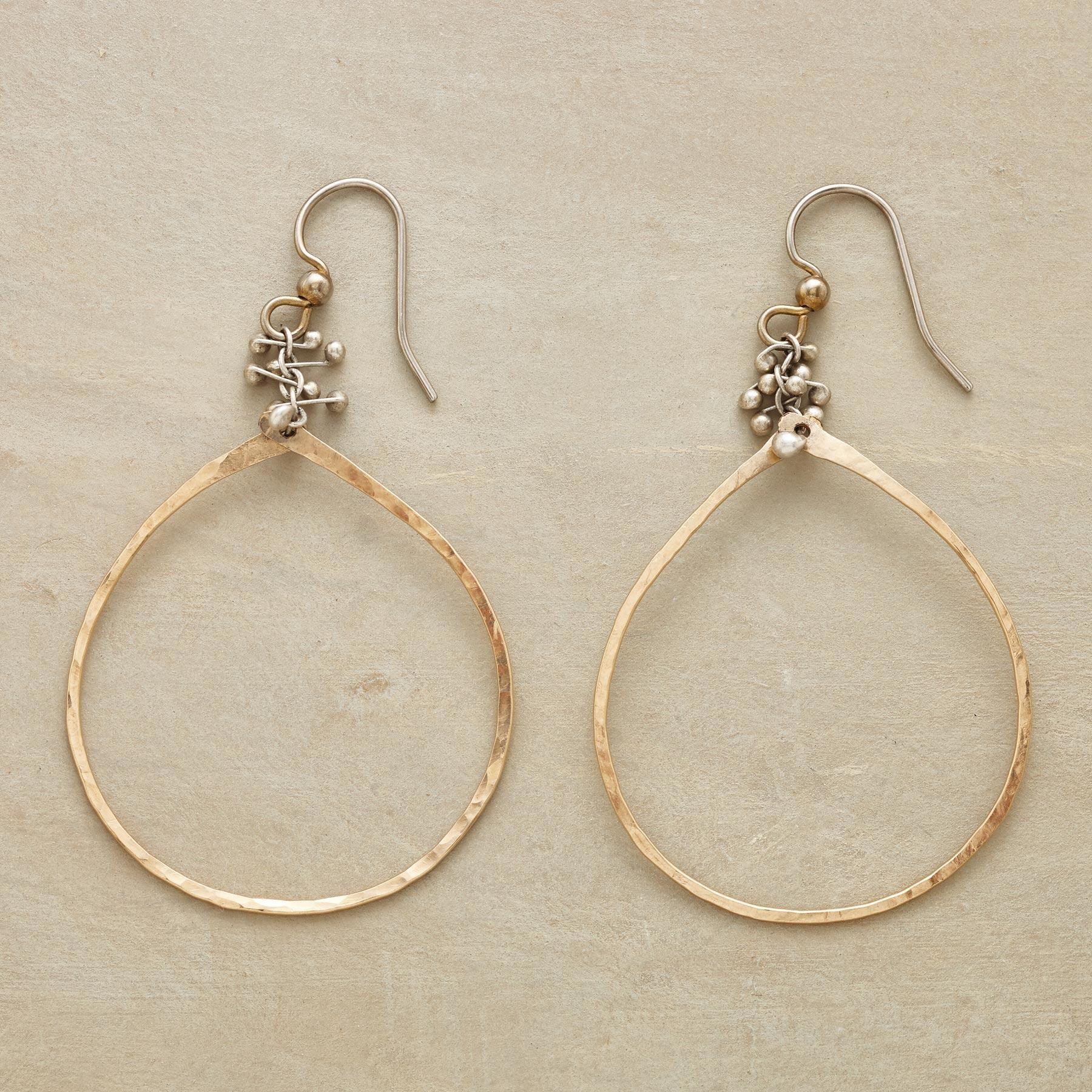 CAVIAR TEARS EARRINGS -- These handmade teardrop earrings were ...