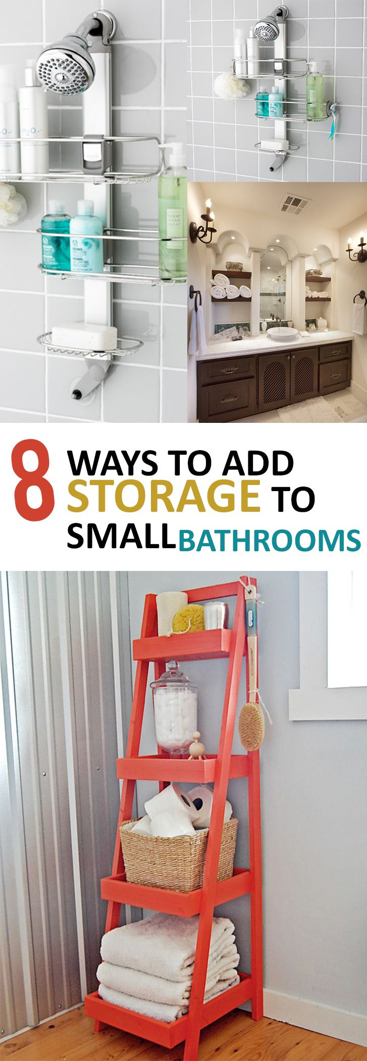 Uncategorized Add Organization Tips 10 great ways to add storage your bathroom bathroom