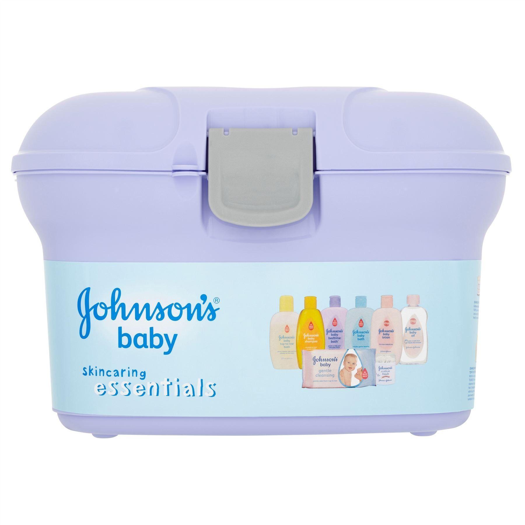 Johnson & Johnson Baby Skincaring Essentials Box: Amazon.co.uk ...