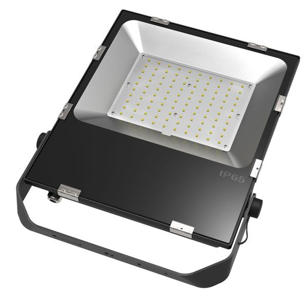 100w Led Flood Light Philips 3030 Chip 100 110lm W Input 100 265v Ac Ip65 Ce Rosh Approval Outdoor Security Lights Led Flood Lights Outdoor Flood Lights