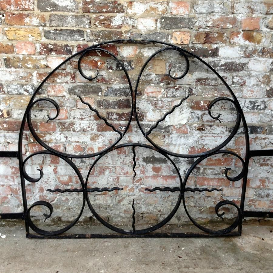 Reclaimed wrought iron window guard grills for sale on salvoweb from
