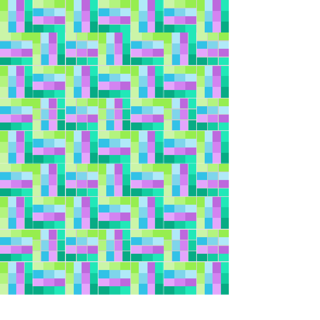 An Example Quilt Using The Hit Or Miss Block