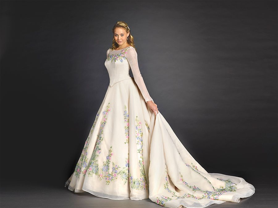 Alfred Angelo reveals his Disney-inspired wedding dresses | Disney ...