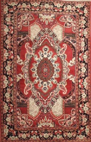 NEW CONTEMPORARY PERSIAN MAHAL AREA RUG 36777 - AREA RUG This beautiful Handmade Knotted Rectangular rug is approximately 6 x 10 New Contemporary area rug from our large collection of handmade area rugs with Persian Mahal style from Iran/Persia with Wool