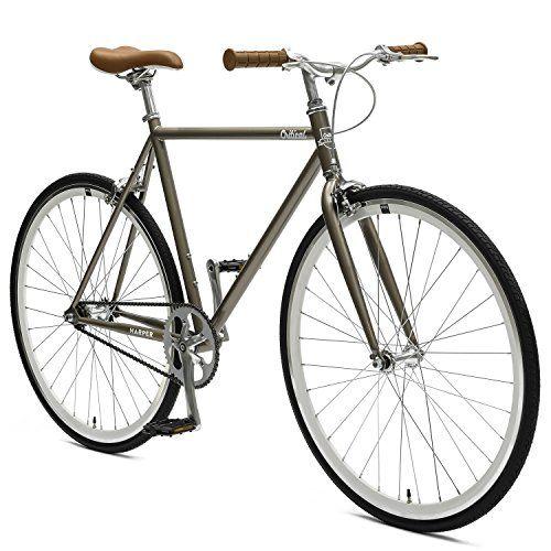 d43fd5458e0 Critical Cycles Harper Single-Speed Fixed Gear Urban Commuter Bike ...
