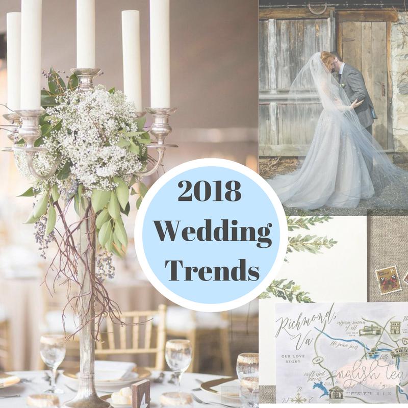 Wedding Bouquet Trends 2018