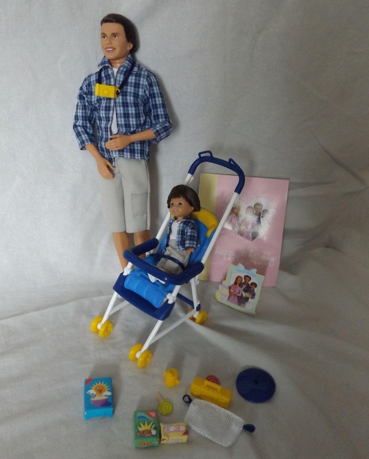 Details about HTF Barbie Happy Family Alan Ryan Midge