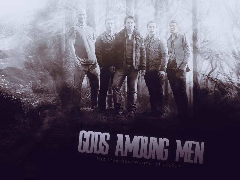 Gods among men The Almighty Johnsons