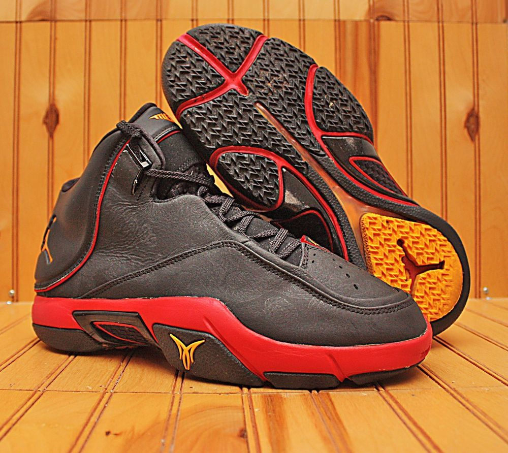 outlet store 7a685 c43cd 2007 Nike Air Jordan Melo M4 Size 8.5 - Black Varsity Red Bred - 317154 071    Clothing, Shoes   Accessories, Men s Shoes, Athletic   eBay!