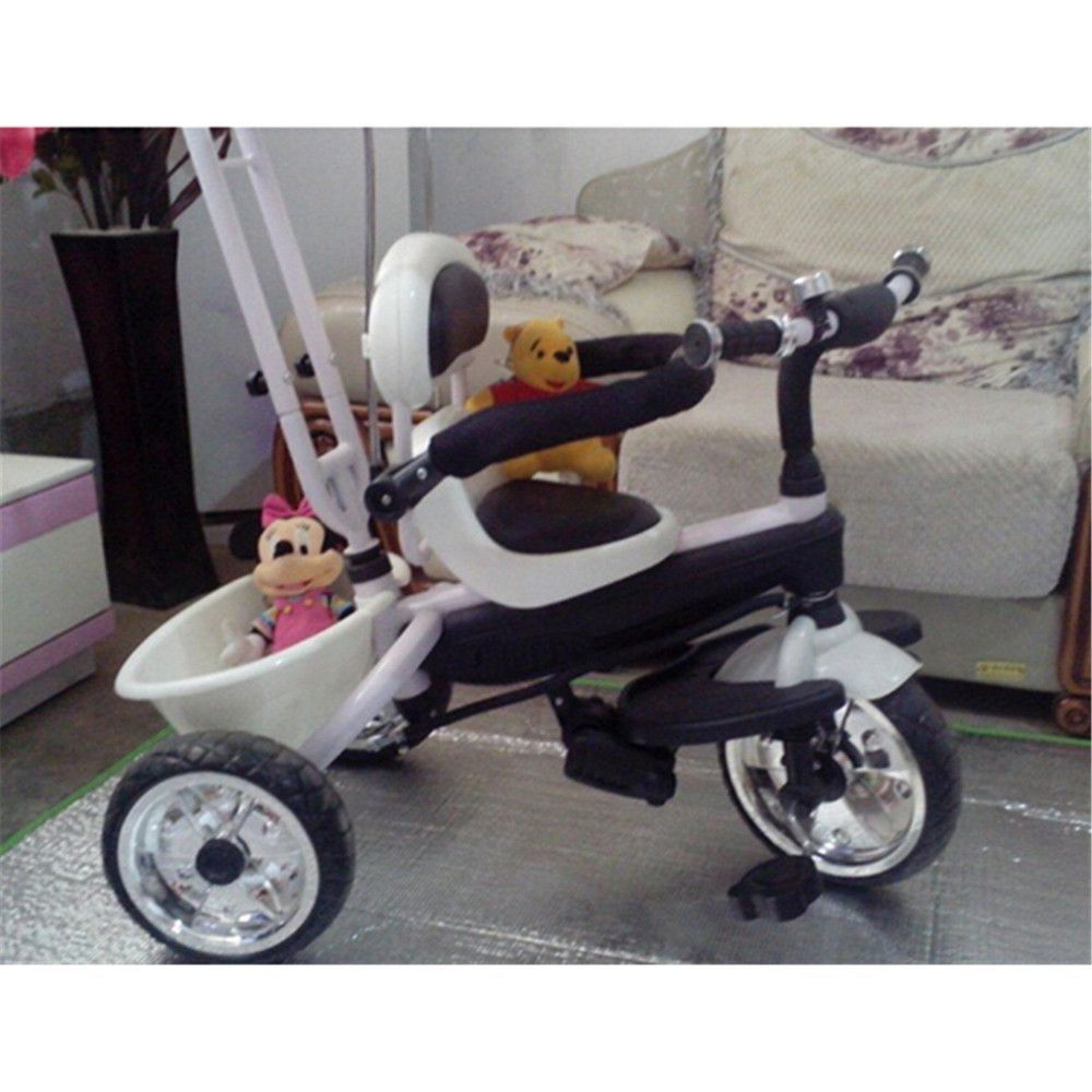 4 in 1 Baby Stroller Tricycle Trolley Carriage Bike