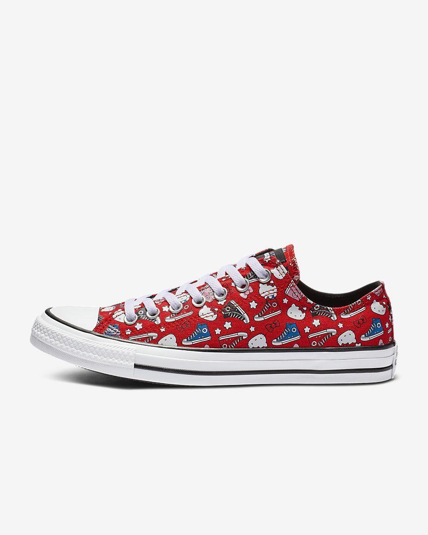 c897fa4e062e Converse x Hello Kitty Chuck Taylor All Star Low Top Unisex Shoe ...