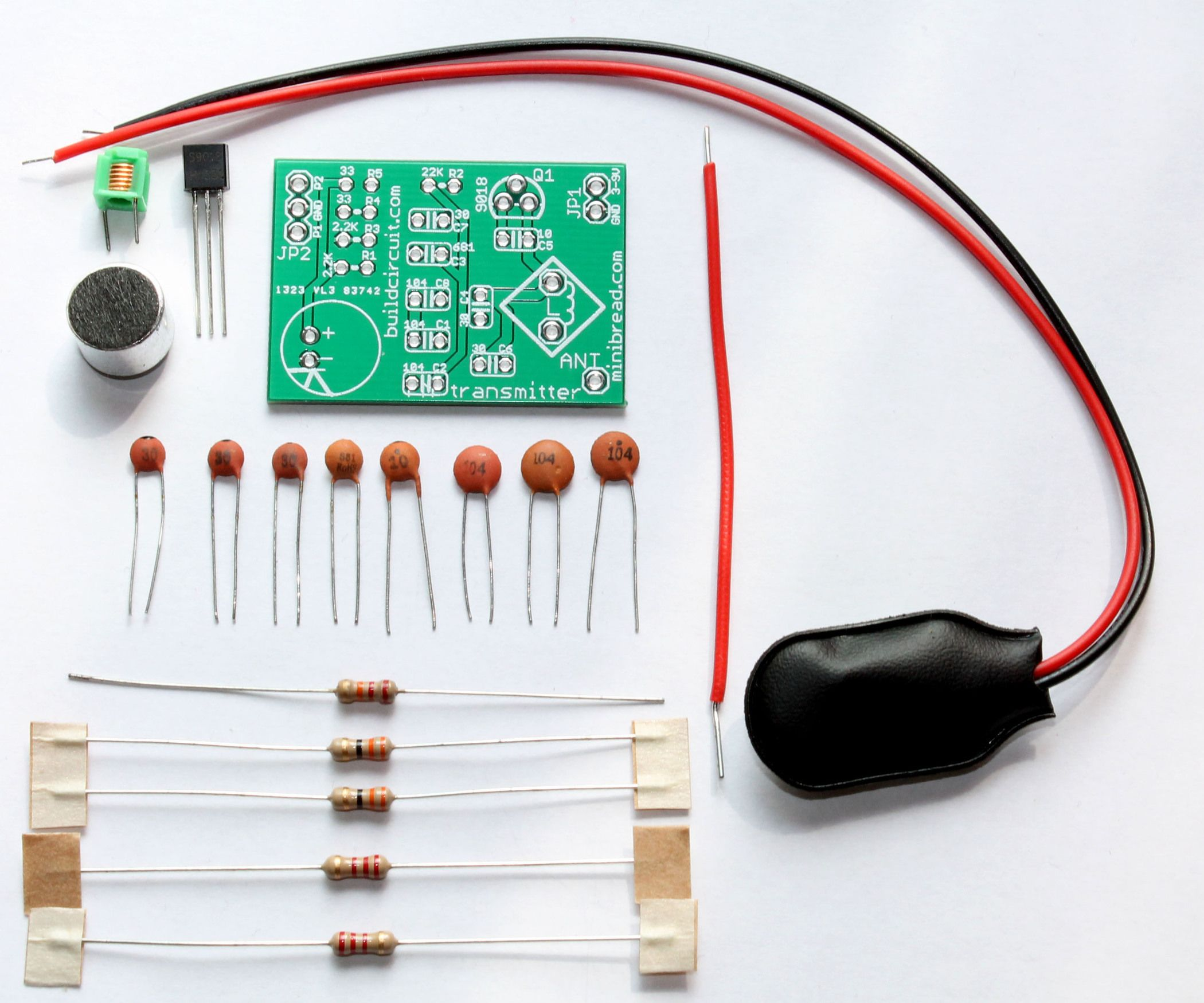 Easy and Low Cost FM Transmitter DIY Kit | Diy electronics