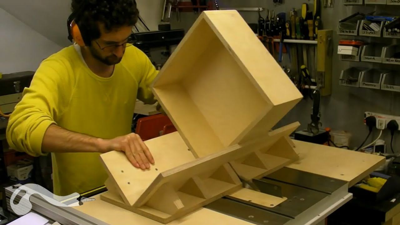 Splined / Keyed Mitre Sledge and Box Building and Using