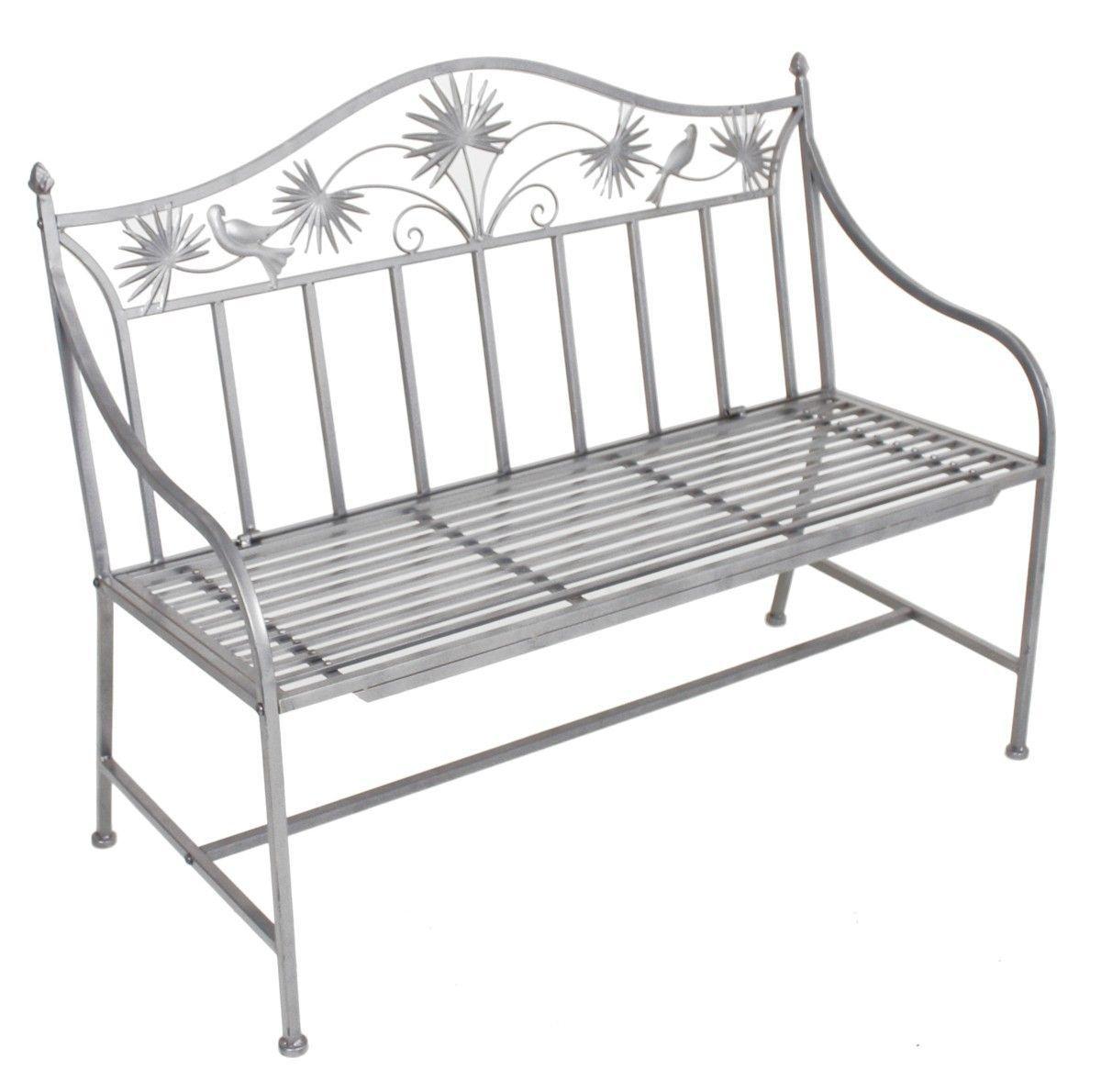 Garden Pleasure Gartenbank aus Metall Jetzt bestellen unter: https ...