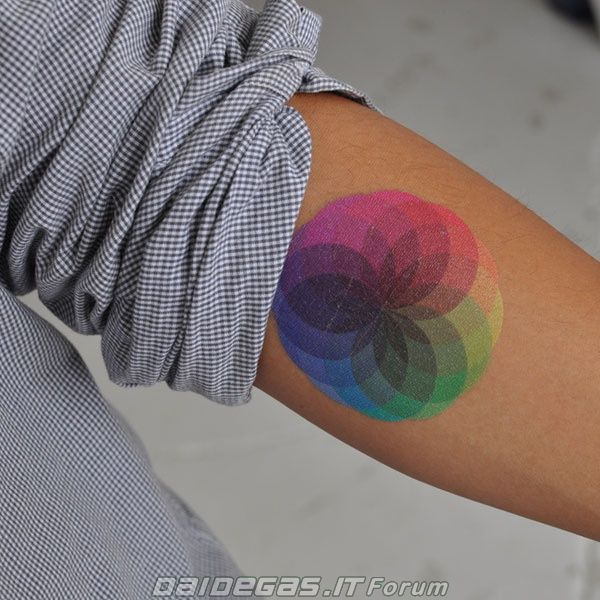Full colored ink