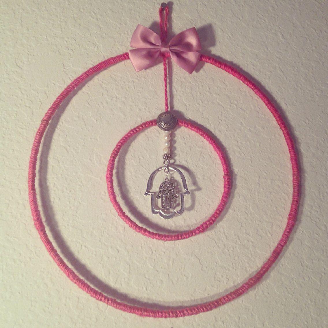 Dreamcatcher by Brass and Stone #brassandstone #dreamcatcher #hamsa #silver #bows #pink #cute #love #handmade #goodenergy #la #creative #unique #oneofakind #madeinamerica