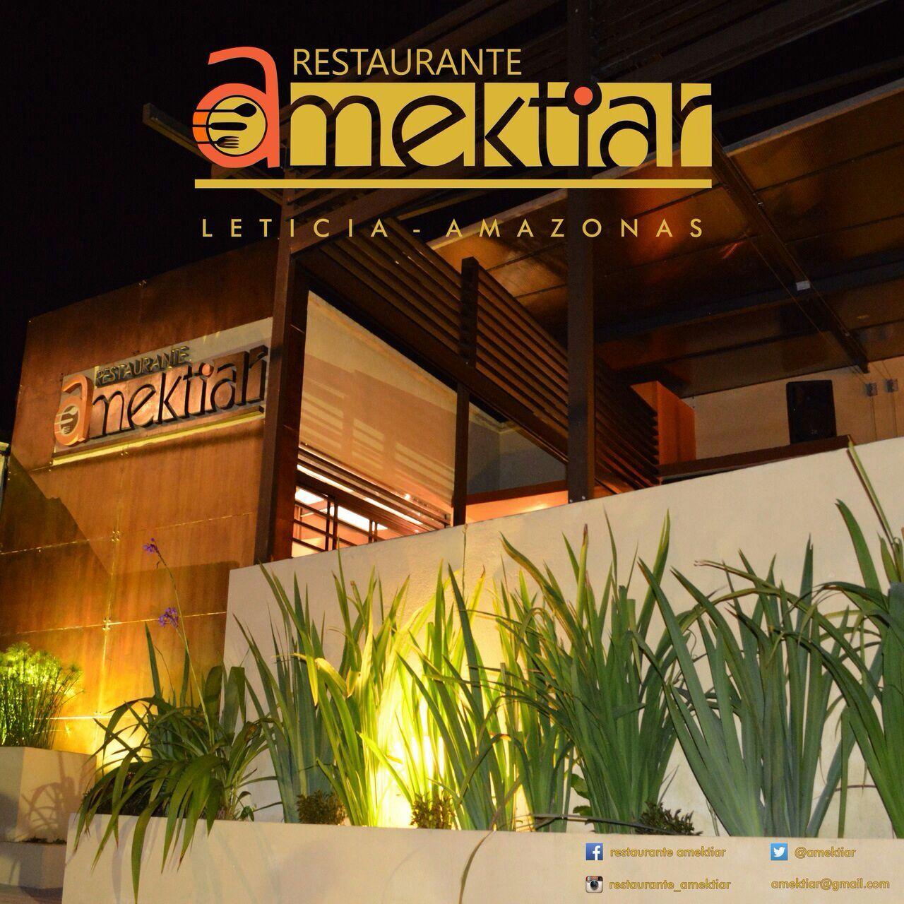 restaurante AMEKTIAR en Leticia Amazonas