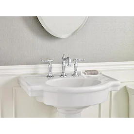 American Standard Ravenna 34 In H White Vitreous China Pedestal